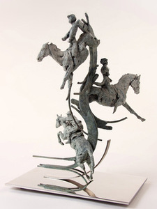 THE CELEBRATION OF SPORT BY JUDY BOYT BRONZE FOR THE OLYMPIC GAMES